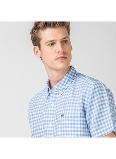 Lacoste Erkek Regular Fit Gömlek CH0053K.53M Mavi